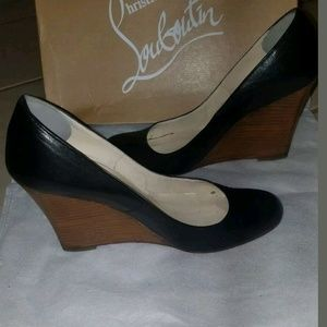 eb36774c702a Christian Louboutin Shoes - Christian Louboutin Miss Boxe Wedges. Authentic  37